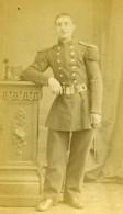 France Lille Militaire Soldat Ancienne CDV Photo Carette 1870 - Photographs