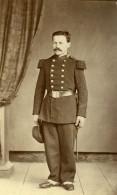 France Militaire Soldat Ancienne CDV Photo Anonyme 1870 - Photographs