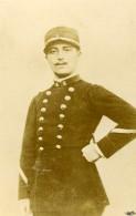 France Militaire Soldat Ancienne CDV Photo Anonyme 1900 - Photographs