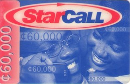 TARJETA TELEFONICA DE GHANA. PREPAGO (006) - Ghana