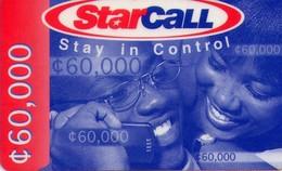 TARJETA TELEFONICA DE GHANA. PREPAGO (007) - Ghana