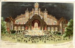 PARIS - EXPOSITION UNIVERSELLE 1900 - Palais De L'Electricité - Système Optique Lumineux Breveté KAHN & ZABERN - Mostre