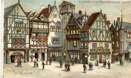 PARIS - EXPOSITION UNIVERSELLE 1900 - Paris Au XIIè Siècle - Système Optique Lumineux Breveté KAHN & ZABERN - Tentoonstellingen