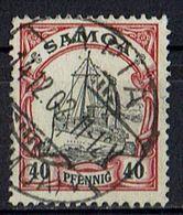 Samoa 1900/1901 // Michel 13 O (020.322) - Colony: Samoa