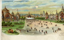 PARIS - EXPOSITION UNIVERSELLE 1900 - Champ De Mars - Système Optique Lumineux Breveté KAHN & ZABERN - Mostre