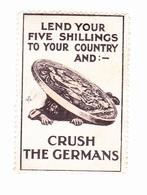 Vignette Militaire Delandre - Lend Your Five Shillings - Erinnophilie
