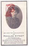 DP Foto - Renilde Kyndt ° Bekegem Ichtegem 1879 † 1936 X Livin Vergaerde - Devotion Images