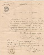 SUISSE - CONSULAT DE LA CONFEDERATION SUISSE A MONTEVIDEO - 1892 AUTORISATION DE SÉJOUR - Historical Documents
