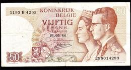 """50 FR Type """"1966"""" Koninklijk Paar    Emiel Kerstens - [ 6] Treasury"""