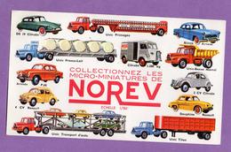 Buvard Norev Micro Miniatures 19.5 Cm X 11.5 Cm - Transports