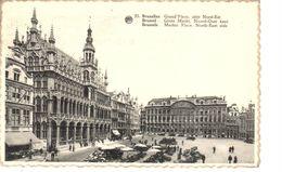 Bruxelles - CPA - Brussel - Grand'Place Côté Nord-Est - Places, Squares