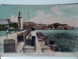 CPA 13 MARSEILLE  LE PHARE SAINT MARIE  1916 - Alter Hafen (Vieux Port), Saint-Victor, Le Panier