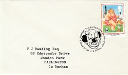 1994 Blackpool Tower GB FDC FISH GULL BIRD CRAB SEASIDE Stamps SPECIAL Pmk CLOWN Cover Circus - Circus