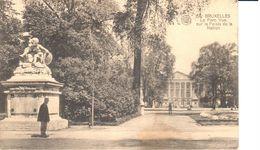 Bruxelles - CPA - Brussel - Le Parc - Vue Sur Le Palais De La Nation - Bossen, Parken, Tuinen