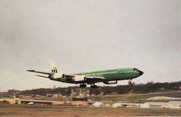 Vintage Aviation Postcard Braniff International Boeing 707 Seattle 1967 Aircraft - 1946-....: Moderne