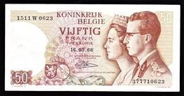 """50 FR Type """"1966"""" Koninklijk Paar   René Lauwerijns - [ 6] Treasury"""