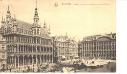 Bruxelles - CPA - Brussel - Maison Du Roi Et Maison De La Grand'Place - Places, Squares