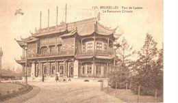 Bruxelles - CPA - Brussel - Parc De Laeken - Le Restaurant Chinois - Cafés, Hotels, Restaurants