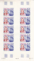 French Polynesia 1978 MNH Scott #C154 Complete Sheet Of 10 33fr Cook, 'Discovery' - Poste Aérienne