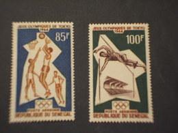 SENEGAL - P.A. 1964 OLIMPIADI 2 VALORI - NUOVI(++) - Senegal (1960-...)