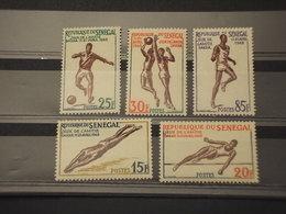 SENEGAL - 1965 SPORT 5 VALORI - NUOVI(++) - Senegal (1960-...)