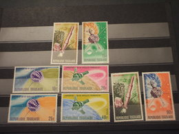 TOGO - 1967 SATELLITE 8 VALORI - NUOVI(++) - Togo (1960-...)