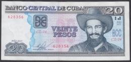 2015-BK-70 CUBA 20$ CAMILO CIENFUEGOS 2015 XF REPLACEMENT REEMPLAZO BZ SERIE - Kuba