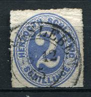 19357) SCHLESWIG-HOLSTEIN # 16 Gestempelt Aus 1865, 70.- € - Schleswig-Holstein