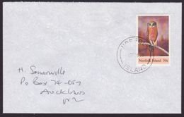 NORFOLK ISLAND 1995 Cover To New Zealand - 30c Owl.......6503 - Norfolk Island