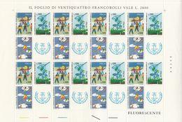 ITALIA -  ITALY - 1977 - Foglio Completo Nuovo Con 8 Serie Yvert 1318/1320. - 6. 1946-.. Republik