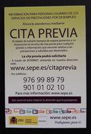 CALENDARIO 2018. SEPE - CITA PREVIA. - Calendarios