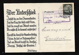 D.-Reich Netter Beleg-Ganzsachen Ausschnitt....  .....  (oo1989  ) Siehe Scan - Briefe U. Dokumente