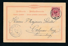DR.- Karte >Luxemburg  (oo950  ) Siehe Scan - Briefe U. Dokumente