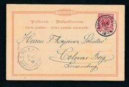 DR.- Karte >Luxemburg  (oo950  ) Siehe Scan - Lettres & Documents