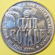 $1 Casino Token. Club Royale Cruise Line. D46. - Casino