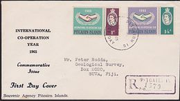 PITCAIRN 1965 ICY Official FDC.............................................6969 - Stamps