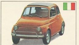 L'HISTOIRE DE L'AUTOM0BILE  EDITIONS DE LA TOUR PANINI  FIAT TYPE 500 L    No 144 - Edición Italiana