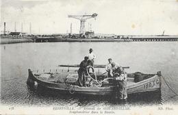 Ferryville (Menzel Bourguiba) - Arsenal De Sidi-Abdallah - Scaphandrier Dans Le Bassin - Carte ND Phot. N° 178 - Tunisia