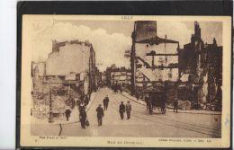 59232 . LILLE . RUE  DE BETHUNE  . (recto/verso) LIBRAIRIE J. TALLANDIER . ATTELAGE .RUINES . MILITARIA - Lille
