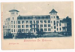 Böblingen - Sanatorium Dr. Krämmer. Undivided Back, Early 1900's. - Boeblingen