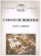 D95. VILLE DE SANNOIS. CYRANO DE BERGERAC. CENTRE D'ANIMATION.  7 € PORT COMPRIS. - Ile-de-France