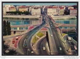 69) Lyon - Le Pont De Lattre De Tassigny Sur Le Rhône - Voies D ' Accès Au Tunnel De La Croix Rousse (1972) - Otros