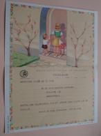 TELEGRAM Voor Fam. WOUTERS Kielpark Antwerpen (Borremans) Stamp 1964 Antwerpen Belgique - Belgium !! - Faire-part