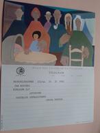 TELEGRAM Voor Fam. WOUTERS Kielpark Antwerpen (VdWeyde) Stamp 1964 Antwerpen Belgique - Belgium !! - Faire-part