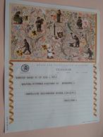 TELEGRAM Voor Fam. WOUTERS Kielpark Antwerpen (Ursilinen) Stamp 1964 Antwerpen Belgique - Belgium !! - Faire-part