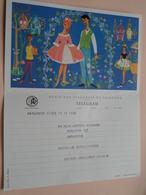 TELEGRAM Voor Fam. WOUTERS Kielpark Antwerpen (Ursulinen) Stamp 1964 Antwerpen Belgique - Belgium !! - Faire-part