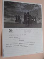 TELEGRAM Voor Fam. WOUTERS Kielpark Antwerpen (De Roeck) Stamp 1965 Antwerpen Belgique - Belgium !! - Faire-part