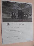 TELEGRAM Voor Fam. WOUTERS Kielpark Antwerpen (Garcia) Stamp 1965 Antwerpen Belgique - Belgium !! - Announcements