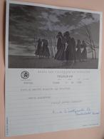 TELEGRAM Voor Fam. WOUTERS Kielpark Antwerpen (Janssen) Stamp 1965 Antwerpen Belgique - Belgium !! - Faire-part