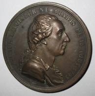 Médaille Commémorative Antoine Laurent Lavoisier Chimiste Guillotiné Sous La Terreur - Sonstige